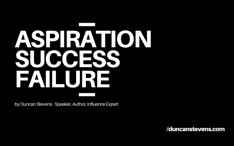 ASPIRATION SUCCESS FAILURE