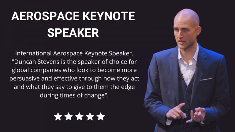 Aerospace Keynote Speaker