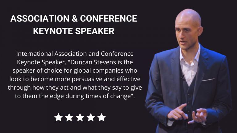 Association and Conference Keynote Speaker