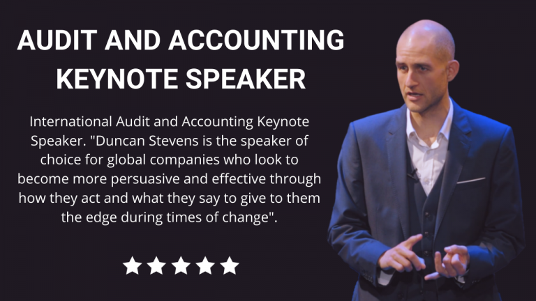 Audit and Accounting Keynote Speaker