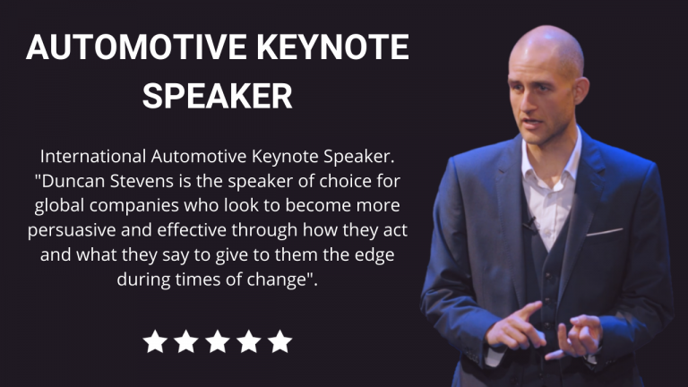 Automotive Keynote Speaker