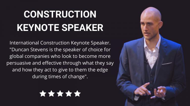 Construction Keynote Speaker