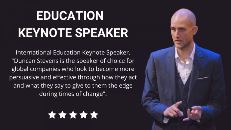 Education Keynote Speaker
