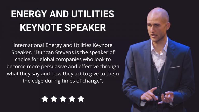 Energy and Utilities Keynote Speaker