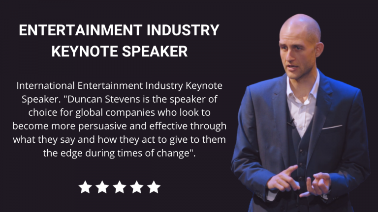Entertainment Industry Keynote Speaker