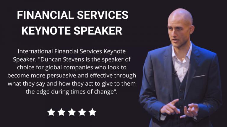 Financial Services Keynote Speaker