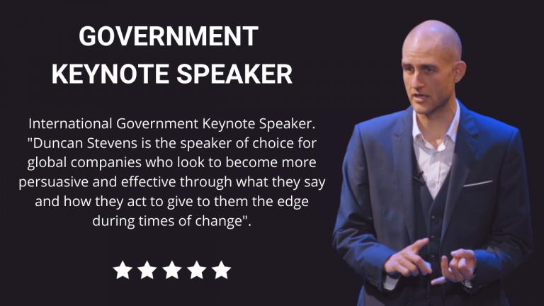 Government Keynote Speaker