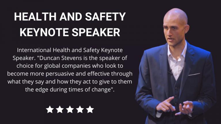 Health and Safety Keynote Speaker