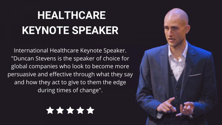 Healthcare Keynote Speaker