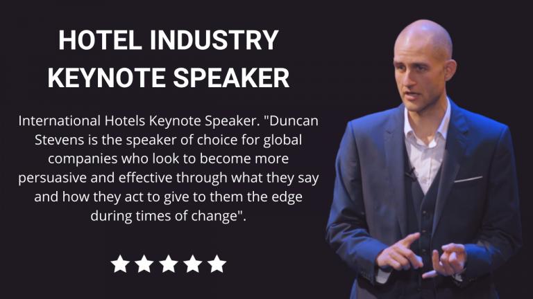 Hotels Keynote Speaker