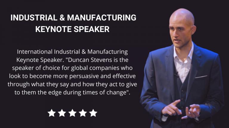 Industrial and Manufacturing Keynote Speaker