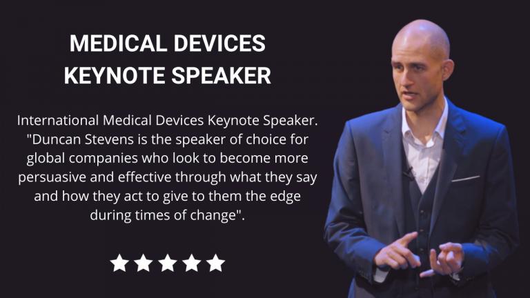 Medical Devices Keynote Speaker