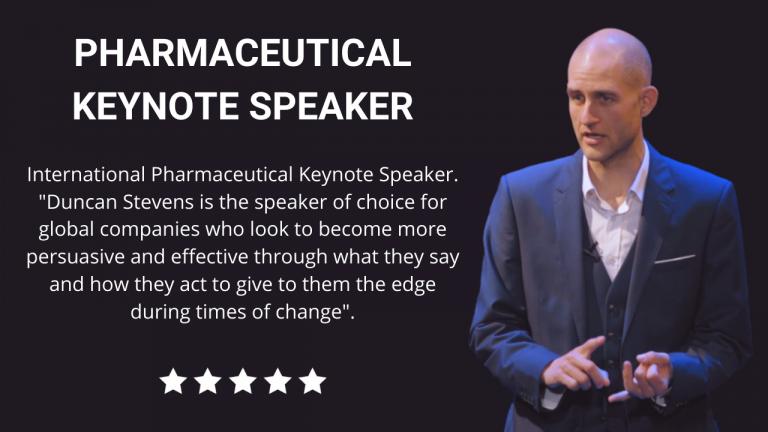 Pharmaceutical Keynote Speaker