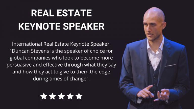 Real Estate Keynote Speaker