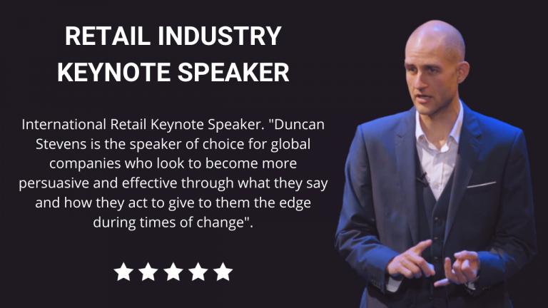 Retail Keynote Speaker