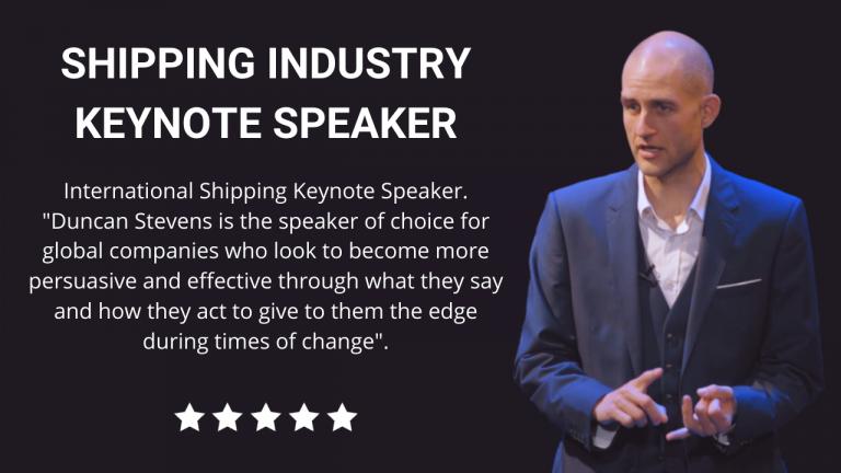 Shipping Keynote Speaker