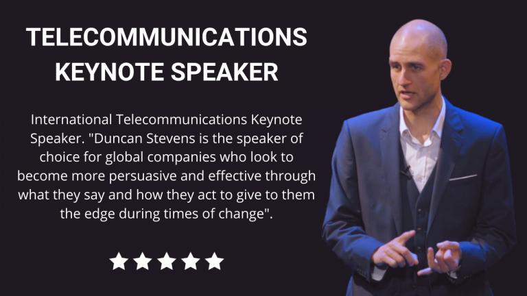 Telecommunications Keynote Speaker