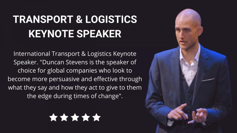 Transport and Logistics Keynote Speaker